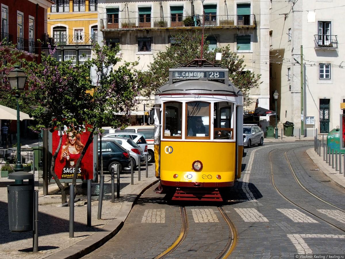 Маршрут 28 трамвая Лиссабон