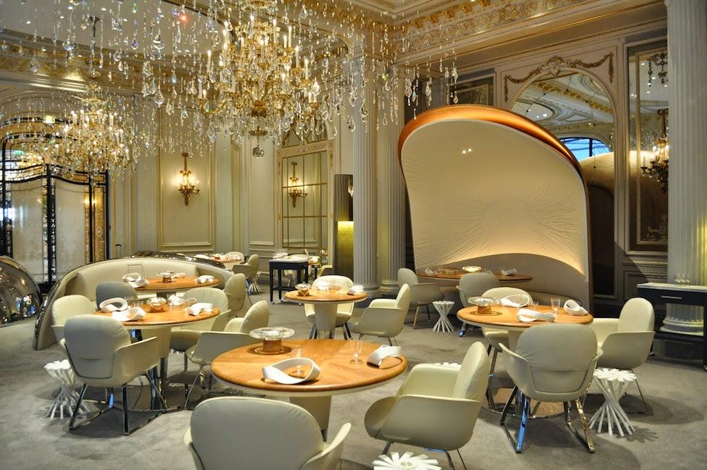 Пять наилучших мишленовских ресторанов в Париже
